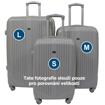 Obrázek z Skořepinový cestovní kufr na 4 kolečkách - S46