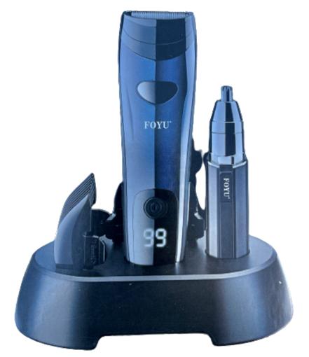 Obrázek z Elektrický zastřihovač vlasů a vousů 2v1 FO-J30