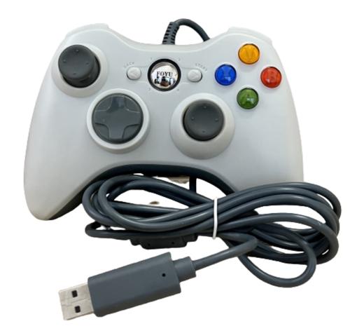 Obrázek z Herní ovladač pro Xbox 360 - usb kabelový