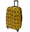 Obrázek z Cestovní kufr ABS vel. M - PC potisk beruška s puntíky