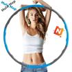 Obrázek z Skládací obruč na cvičení Hula hop
