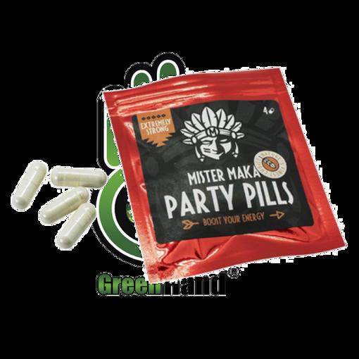 Obrázek z Pilulky na párty - Party Pills Mister Maka