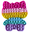 Obrázek z Pop It JUMBO antistresová hračka - Kitty