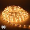 Obrázek z Světelný LED kabel, trubice venkovní 100m s flash efektem