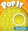 Obrázek z Pop It Rainbow MEGA JUMBO s kostkami - antistresová hračka čtverec