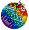 Obrázek z Pop It Rainbow s kuličkami