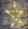 Obrázek z Vánoční LED dekorace s přísavkou - hvězda