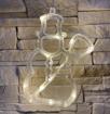 Obrázek z Vánoční LED dekorace s přísavkou - sněhulák