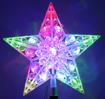Obrázek z LED vánoční hvězda na stromeček - 15cm