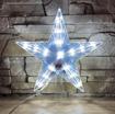 Obrázek z LED vánoční hvězda na stromeček - 30cm