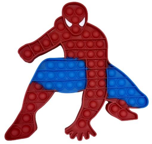 Obrázek z Pop it antistresová hra - JUMBO spiderman