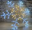 Obrázek z Venkovní Vánoční LED osvětlení dvojitá vločka 70cm