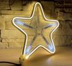 Obrázek z LED neonové osvětlení bílá teplá s efekty v bílé studené - 30cm