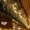 Obrázek z Vánoční osvětlení venkovní, světelné LED krápníky 2000ks/65m s časovačem a dálkovým ovládáním