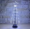 Obrázek z Vánoční stromek na baterie nebo usb - 45 cm/80 LED diod