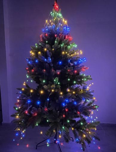 Obrázek z Venkovní nano závěs  200led na 180-200cm strom