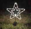 Obrázek z Venkovní nano dekorace na baterie s časovačem - hvězda