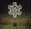 Obrázek z Venkovní nano dekorace na baterie s časovačem - vločka