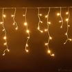 Obrázek z Vánoční osvětlení venkovní, světelné LED krápníky 210 ks/10 m